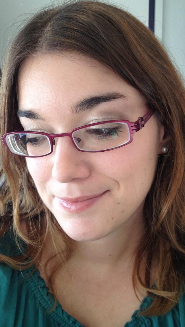 lunettes portrait de biais