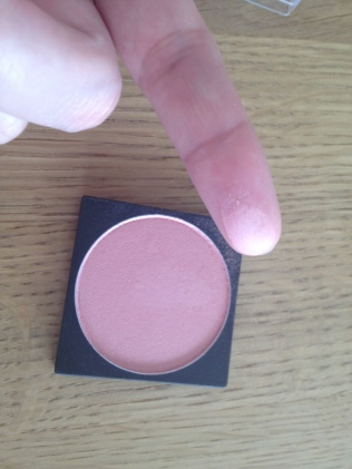 Swatch blush Marionnaud