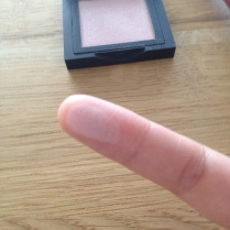 swatch blush makeover
