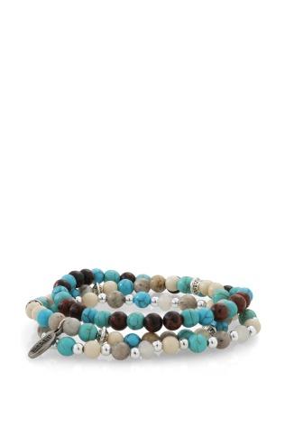 jeu de trois bracelets en perles