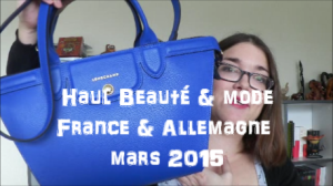 couverture haul mars 2015