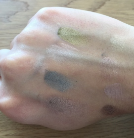 Swatches glamour to go II Too faced