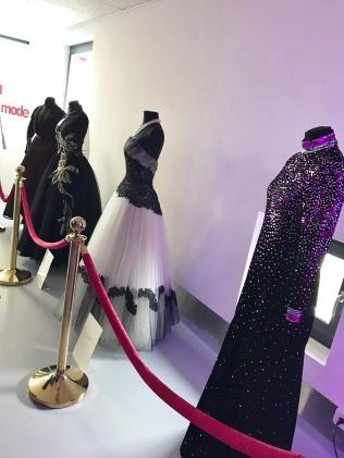 Robes prêtées par le musée de la mode d'Yverdon