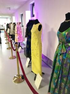 Robes prêtées par le musée de la mode à Yverdon